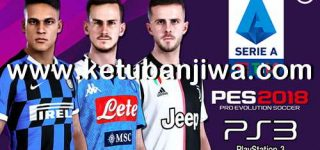 PES 2018 Serie A TIM Season 2020 For PS3 BLES + BLUS Ketuban Jiwa