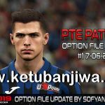 PES 2019 PTE Patch 3.1 Option File Update 17 June 2020