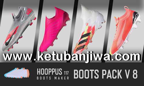 PES 2020 Hoppus117 Boots Pack v8 AIO For PC Ketuban Jiwa