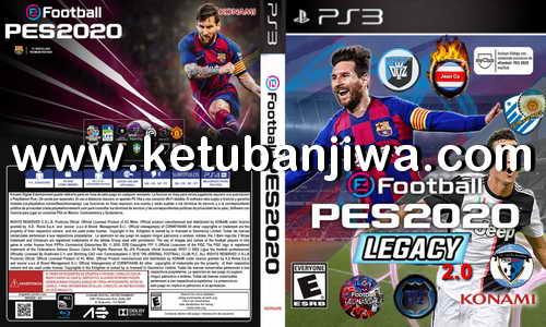 PES 2020 Legacy 2.0 AIO For PS3 BLES + BLUS by TEAMDVZPES Ketuban Jiwa