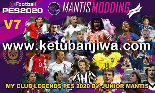 PES 2020 MyClub Legends v7 Offline DLC 7.00 For PC + PS4 by Junior Mantis Ketuban Jiwa