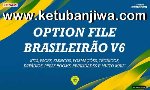 PES 2020 Option File Brasileirão v6 DLC 7.0 For PS4 by Editmos Ketuban Jiwa