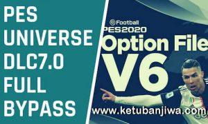 PES 2020 PESUniverse Option File v6 DLC 7.0 AIO For PC + PS4 Ketuban Jiwa