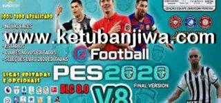 PES 2020 PS4 Emerson Pereira Option File v8 AIO DLC 8.0