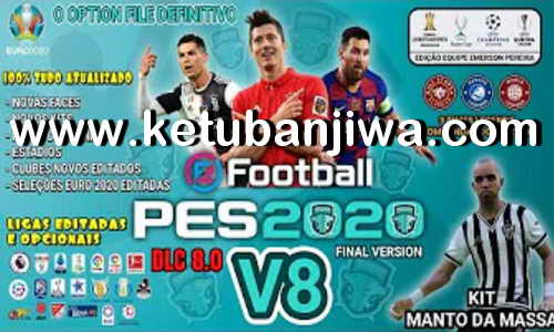 PES 2020 PS4 Emerson Pereira Option File v8 AIO DLC 8.0 Ketuban Jiwa
