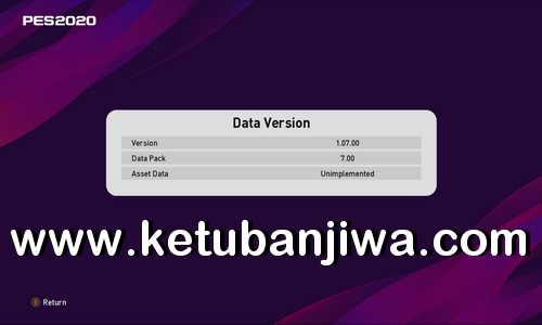 eFooball PES 2020 SMoKE Patch Compatibility Package DLC 7.0 Ketuban Jiwa