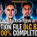 PES 2020 PS4 Compilation Option File DLC 8.0