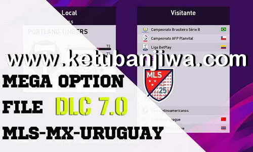 eFootball PES 2020 Mega Option File DLC 7.0 AIO For PC by Ruitrind Ketuban Jiwa