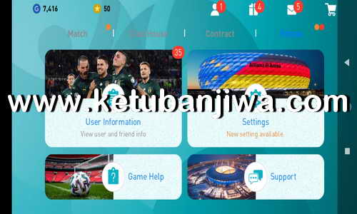 eFootball PES 2020 Mobile Android UEFA EURO Patch 4.5.0 by Snow Broken Ketuban Jiwa