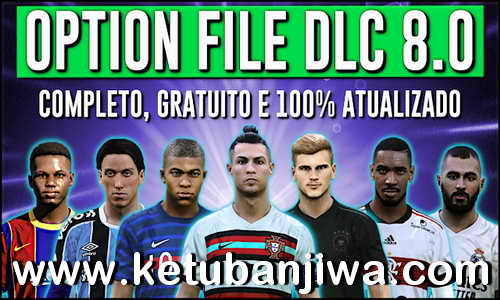 eFootball PES 2020 PesVicioBR Option File DLC 8.0 AIO For PS4 Ketuban Jiwa