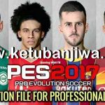 PES 2017 Option File Update 04/07/20 For Professionals Patch