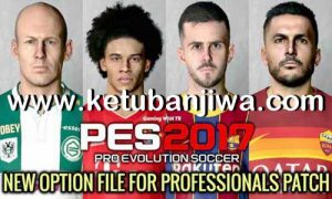 PES 2017 Option File Update 04 July 2020 For Professionals Patch by Gaming WitH TR Ketuban Jiwa