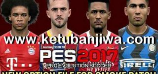 PES 2017 Option File Update 07 July 2020 For SMoKE Patch