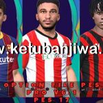 PES 2017 Option File Update 29/07/20 For Professionals Patch 6.1