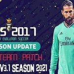 PES 2017 Pro Team Patch 3.1 Update Season 2020/2021