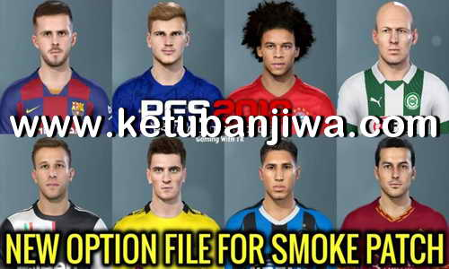 PES 2019 Option File Update 08 July 2020 For SMoKE Patch