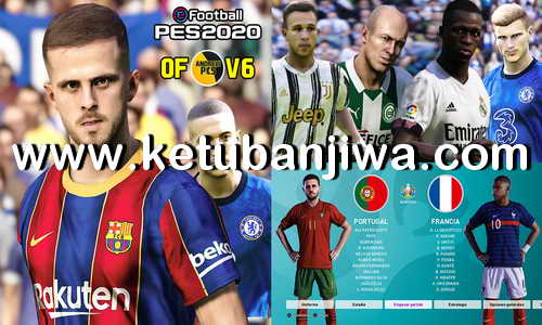 PES 2020 PS4 AndrewPES Option File Mix v6 AIO DLC 8.0 Ketuban Jiwa
