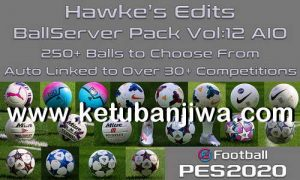 eFooball PES 2020 Ball Server Sider Volume 12 AIO For PC by Hawke Ketuban Jiwa