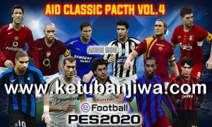 eFootball PES 2020 Classic Patch Vol. 4 AIO DLC 8.0 Ketuban Jiwa