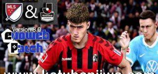 PES 2020 MLS + J.League For EvoPatch 8.0