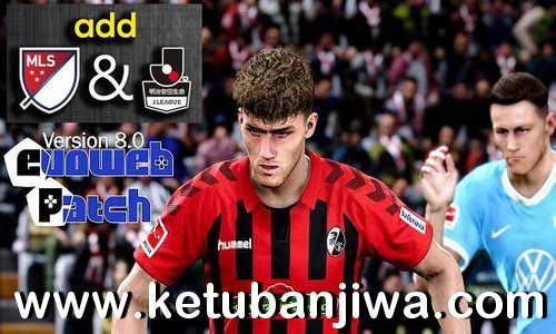 eFootball PES 2020 MLS + J.League For EvoPatch 8.0 by RTPES Ketuban Jiwa
