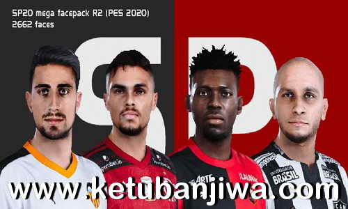 eFootball PES 2020 Mega Face Pack R2 For Smoke Patch 2662 Faces Ketuban Jiwa