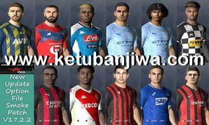 PES 2017 Option File Update 8 August 2020 For Smoke Patch 17.2 by EsLaM Ketuban Jiwa