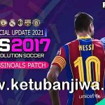 PES 2017 Professionals Patch Unofficial Update Season 2021