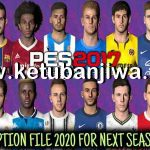 PES 2017 Option File Update 20/08/2020 For Next Season Patch