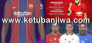 PES 2018 PS3 Savedata Update August 2020 For Potato Patch 8.4
