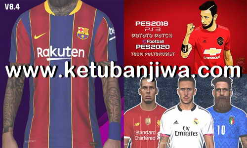 PES 2018 PS3 Savedata Update August 2020 For Potato Patch 8.4 BLES + BLUS Ketuban Jiwa