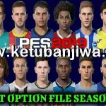 PES 2019 Option File 24/08/2020 For Professionals Patch v3