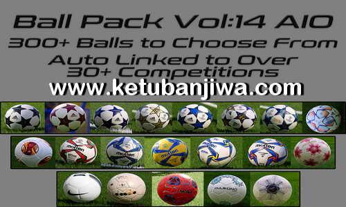 PES 2020 Ball Server Pack Volume 14 AIO Final Version by Hawke Ketuban Jiwa