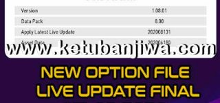 PES 2020 Option File Update 13 August 2020 For Andri Patch 8.0