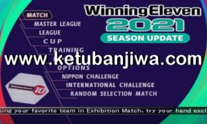 Winning Eleven 2021 PS2 ISO + Liga 1 Shopee Indonesia Ketuban Jiwa