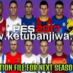 PES 2017 Option File August Final Update For Next Season Patch