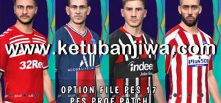 PES 2017 Option File Update 12 September 2020 For Professionals Patch