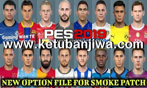 PES 2019 Option File August Final Update Season 2021 For Smoke Patch