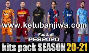 PES 2020 Mega Kitserver Pack Final Version AIO Season 2020-2021 by Glauber Silva Ketuban JIwa