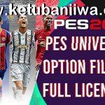 PES 2021 PESUniverse Option File v1 DLC 1.0 For PC + PS4