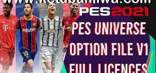 PES 2021 PESUniverse Option File v1 DLC 1.0 For PC + PS4