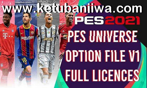 eFootball PES 2021 PESUniverse Option File v1 DLC 1.0 For PC Ketuban Jiwa