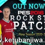 PES 2016 Rockstar Patch v1 AIO New Season 2021