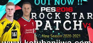 PES 2016 Rockstar Patch v1 AIO New Season 2021 Ketuban JIwa