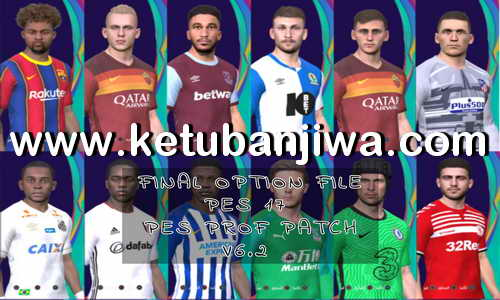 PES 2017 Final Option File Update 22 October 2020 For Professionals Patch by PES Empire Ketuban Jiwa