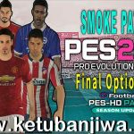 PES 2017 Final Option File Update 30/10/2020 For Smoke Patch