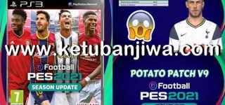 PES 2018 PS3 Potato Patch v9 Savedata Update November 2020 Ketuban Jiwa