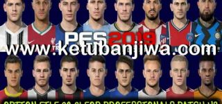 PES 2019 Option File 01/10/2020 For Professionals Patch v3