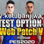 PES 2020 Option File Update 07/10/2020 For EvoWeb Patch 8.0