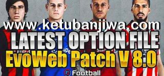 PES 2020 Option File Update 12/10/2020 For EvoWeb Patch 8.0